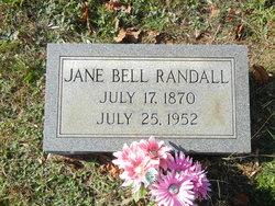 Jane <I>Bell</I> Randall