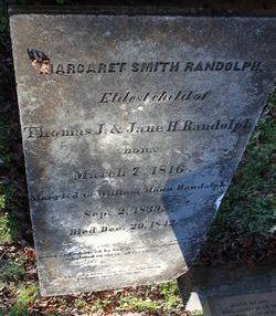 Margaret Smith <I>Randolph</I> Randolph