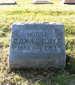 Zora Elizabeth <I>Miller</I> Roby