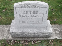 Mary Mabel <I>Workman</I> Best