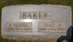 Grace H <I>Hixson</I> Baker