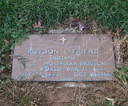Roydon Lee Friend