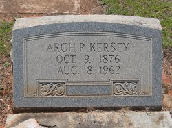 Arch Pinkston Kersey, Sr