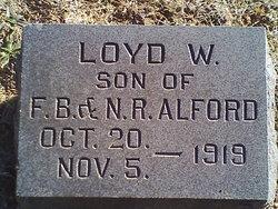 Loyd W Alford
