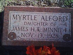 Myrtle Alford