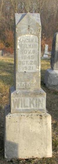 Sarah Ann <I>Sloan</I> Wilkin
