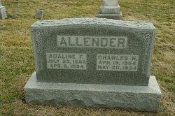 Adaline F <I>Ford</I> Allender