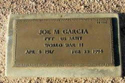 Joe M Garcia