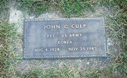 John G Culp