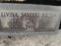Elvina <I>Sanders</I> Bolton