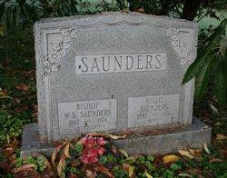 "Wellington S. ""Bishop"" Saunders"