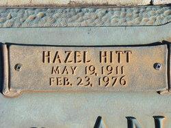 Hazel <I>Hitt</I> Andrews