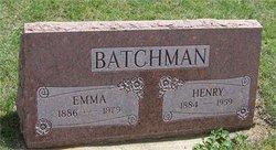 Emma Louise <I>Hagen</I> Batchman
