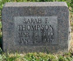 Sarah Frances <I>Nickels</I> Thompson