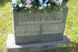 Dallas <I>Buck</I> Allen