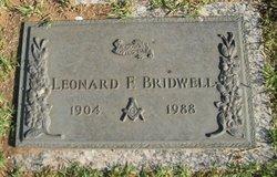 Leonard F Bridwell