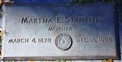 "Martha Elizabeth ""Lizzie"" <I>Delaney</I> Stanfill"