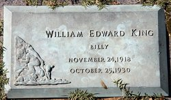 "William Edward ""Billy"" King"