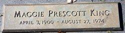 Maggie <I>Prescott</I> King