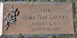 """Irma Sue """"Suie"""" Lackey"""