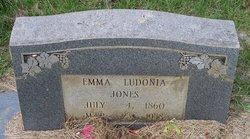 Emma Ludonia Jones