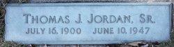 Thomas J Jordan, Sr