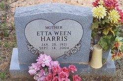 Etta Ween Harris