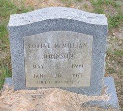 Corine <I>McMillan</I> Johnson