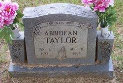 Abbidean Taylor