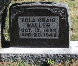 Zola <I>Craig</I> Waller