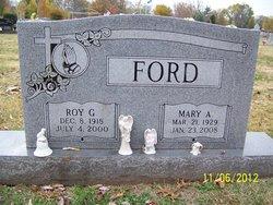 Mary Annie <I>Edmonds</I> Ford