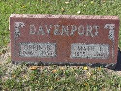Matie L Davenport