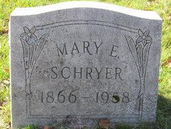 Mary Elizabeth <I>Van Voorheis</I> Schryer