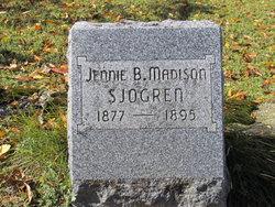 Jennie B <I>Madison</I> Sjogren