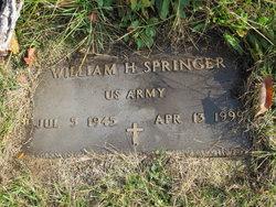 William H Springer