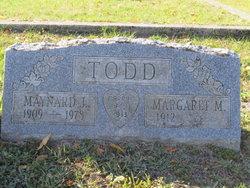 Maynard J Todd