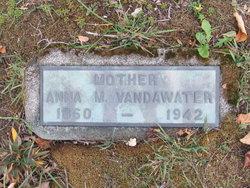 Anna M Vandawater