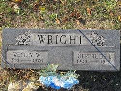 Gertrude I Wright