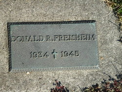 Donald R Freisheim