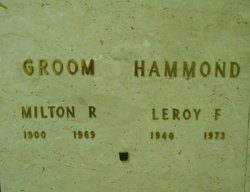 Leroy F Hammond