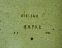 William F Hapke