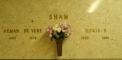 Heman De Vere Shaw