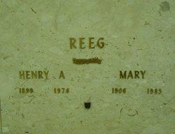 Mary <I>Nelson</I> Reeg