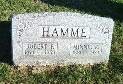 Robert Franklin Hamme