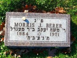 """Morris Jacob """"MJ"""" Berer"""