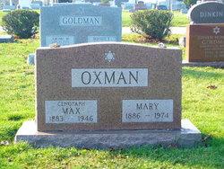 Mary <I>Kassler</I> Oxman