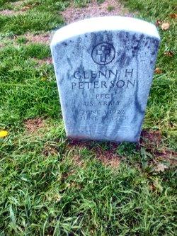 PFC Glenn H Peterson
