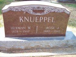 "Rosetta Juliane Wilhelmine ""Rose"" <I>Buchholz</I> Knueppel"