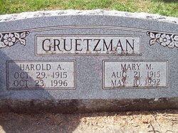 Mary M Gruetzman
