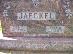 Anna M <I>Luebke</I> Jaeckel